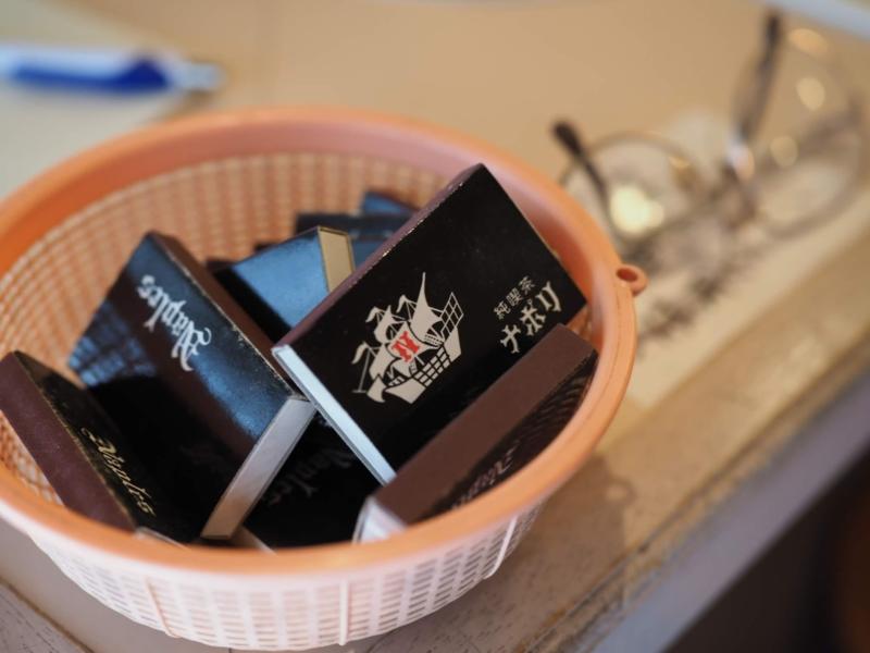 純喫茶ナポリのマッチ