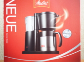 メリタ コーヒーメーカー ノイエ 黒