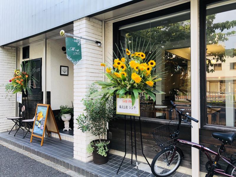 M's cafeの外観
