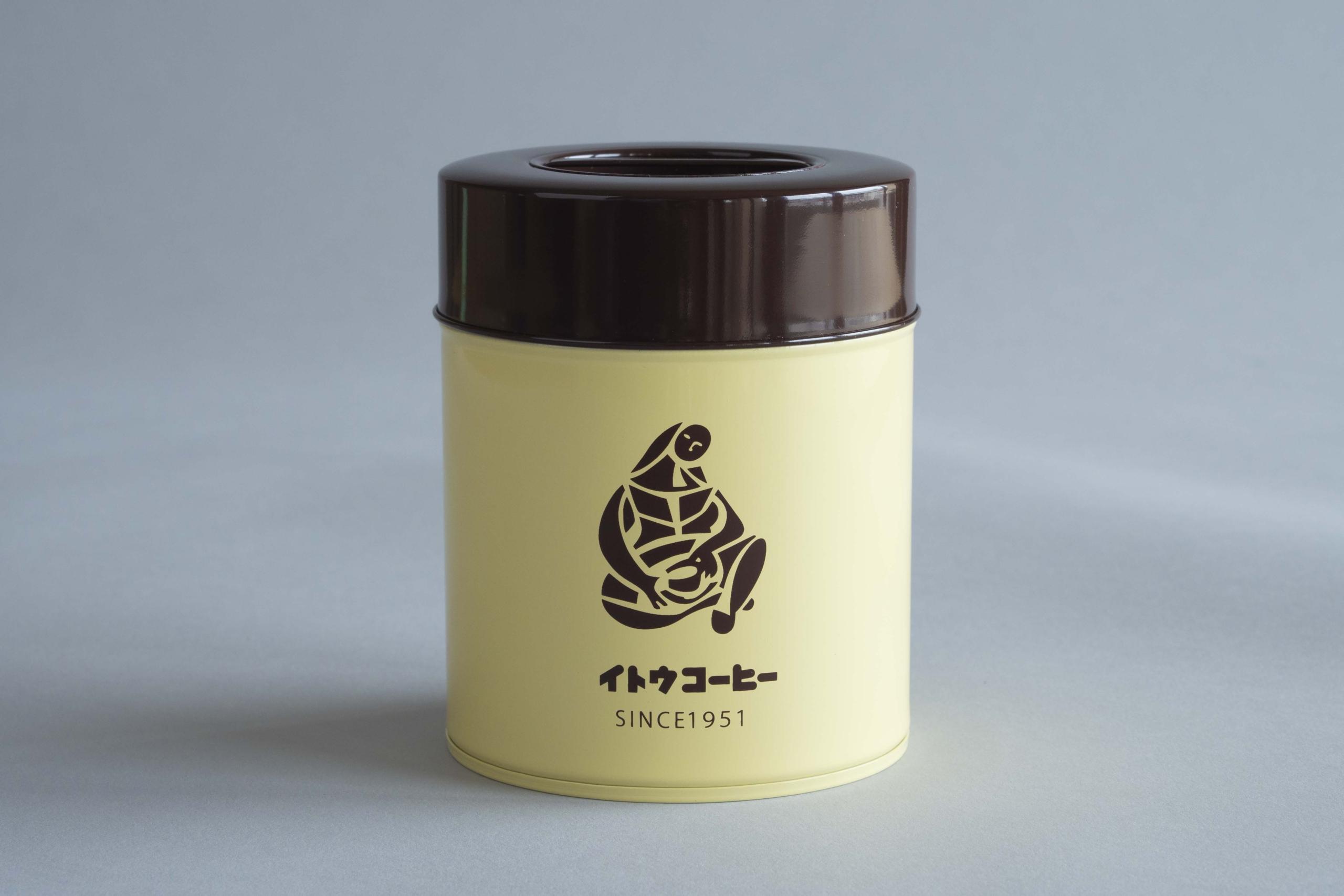 イトウコーヒーオリジナルコーヒー缶・加藤製作所